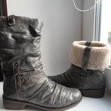 раз.39.Зимние ботинки Rieker