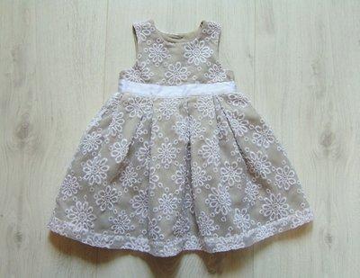 Шикарное нарядное платье для маленькой принцессы. Mothercare. Размер 12-18 месяцев