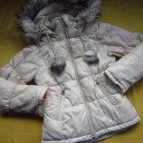 Фирменная зимняя куртка,р.158-164