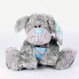 Большой щенок собачка друг мишки Тедди Teddy Me to You My blue nose friends блюносики собака