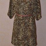 Платье с леопардовым принтом jbc