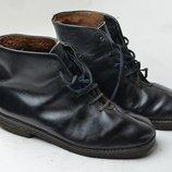 Кожаные ботинки на цегейке р.41