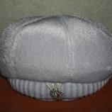 Теплая шапка - берет р.58-62