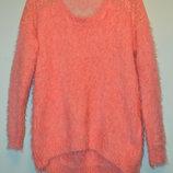 Шикарный розовый свитер-травка Pussycat London Англия .