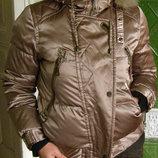 Дизайнерский тёплый пуховик ROOSYER куртка , S