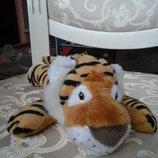 Красивый тигр с гранулками мягкая игрушка тигрюля