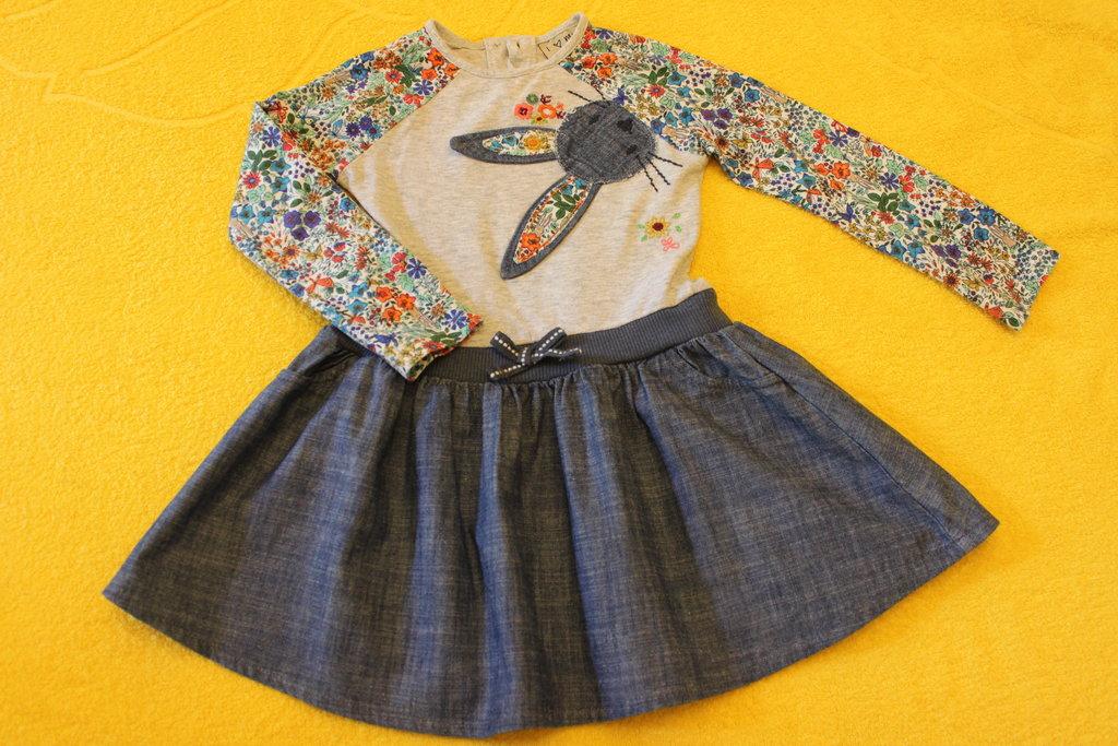 Платье некст зайцы