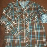 Рубашка на длинный рукав F&F, 9-10 лет, размер 140см.