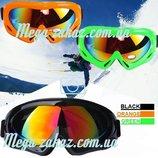Маска горнолыжная/лыжные очки Spark c Уф фильтром 4 цвета