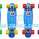 Скейтборд/скейт Penny Board Пенни борд Fishskateboards 12 цветов, до 80кг