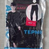 Термобелье кальсоны штаны на мальчика/подростка Amigo