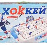 Игра Настольный хоккей 0704. Поле 82 х 42 см, на штангах