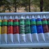 Акриловые краски 12мл акрилові фарби фарба акрил рисования творчества ногти лак канцтов художестве