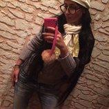 Эффектный комплект шапка шарф Chanel