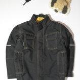 Коричневая теплая куртка Mascot-128