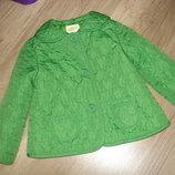 Crazy8 Стеганная куртка пиджак девочке 2-3 г. бу.