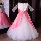 нарядное детское платье арт.5224