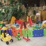Виїзний дитячий ігровий майданчик Поіграйка выездная детская игровая площадка