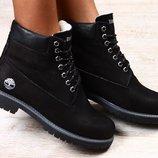 Зимние и деми ботинки тимберленды 36-41р разные цвета