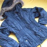 Мембранная куртка Mexx,зима-осень,тёмно-синего цвета