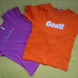 Фирменная футболка детям до 6лет,отличное состояние