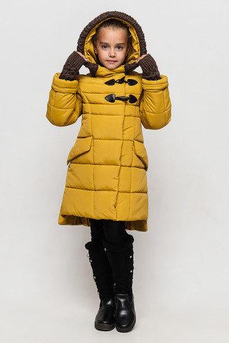 Красивое зимнее пальто для девочки