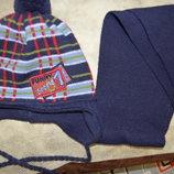 Польский набор шапка, шарфик