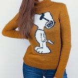 Стильный теплый свитер р44-46