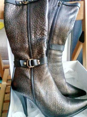 f3f23989c Сапоги женские зимние натуральная кожа и мех Posioit новые на 35-36 размер