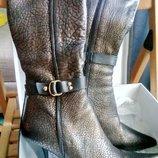 Сапоги женские зимние натуральная кожа и мех Posioit новые на 35-36 размер