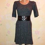 Вязаное платье по фигуре с-м