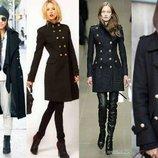 Пальто ONLY черное стильное классика Германия