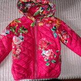 Куртка весна-осень 4-6 лет