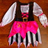 платье пирата девочке на 7-8 лет карнавальное новогоднее