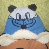 Зимние шапки на овчине на 2-3 года сост. новой