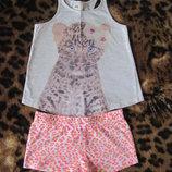 Летняя пижама фирмы H&M р. 2-4 98-104