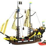 Конструктор Brick , Пиратский корабль , 590 дет., 307