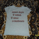 Стильная футболочка для девочки 6лет