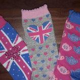Чудесные носочки. Primark. Англия. 2-3г. и 3-6л. Комплект 3шт.