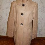 пальто демисезонное с карманами стильное модное р16