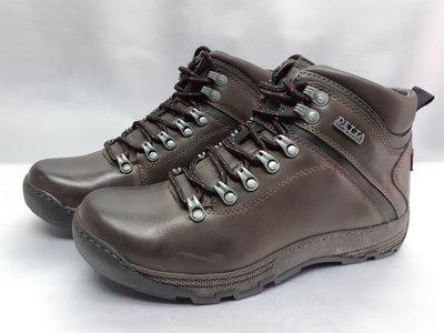 Распродажа Зимние мужские ботинки тёмно-коричневые Detta 40,41,44р.