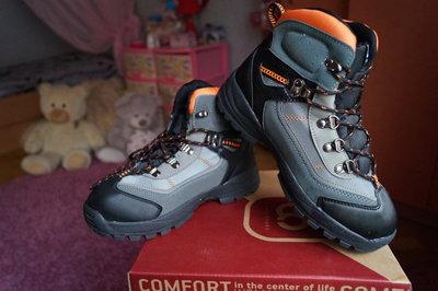 Ботинки зимние серые для мальчика новые р. 36, 37, 38