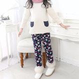 Штаны теплые детские в стиле Zara