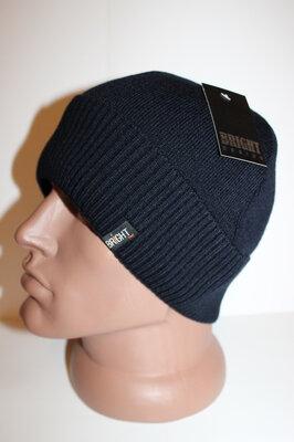 Теплая качественная шапка на флисе 54-60 размер