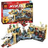 Конструктор BELA Ninjago , строение, фигурки, 1310 дет., в кор. 10530