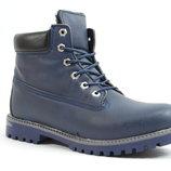 Мужские зимние ботинки Timberland 127 синие