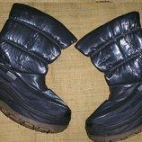 39-25 см очень теплые сапоги на слякоть и мороз Mounty snow boots