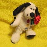 Собака.пес.собачка.песик.мягкая игрушка.Мягка іграшка.Мягкие игрушки.Humatt Buttons