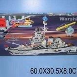 Конструктор Brick Военный корабль 970 дет., в кор. 61 33 8см 112