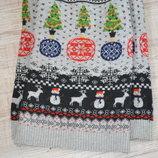 Рождественский свитерок TU р. 5 лет.